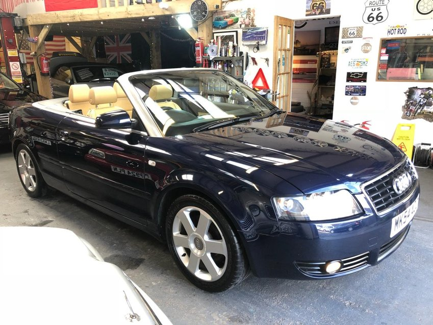 View AUDI A4 1.8T SPORT Convertible