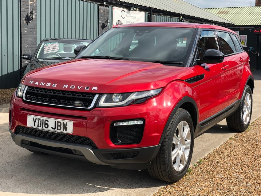 LAND ROVER RANGE ROVER EVOQUE 2.0 TD4 CommandShift Auto Start-Stop SE Tech