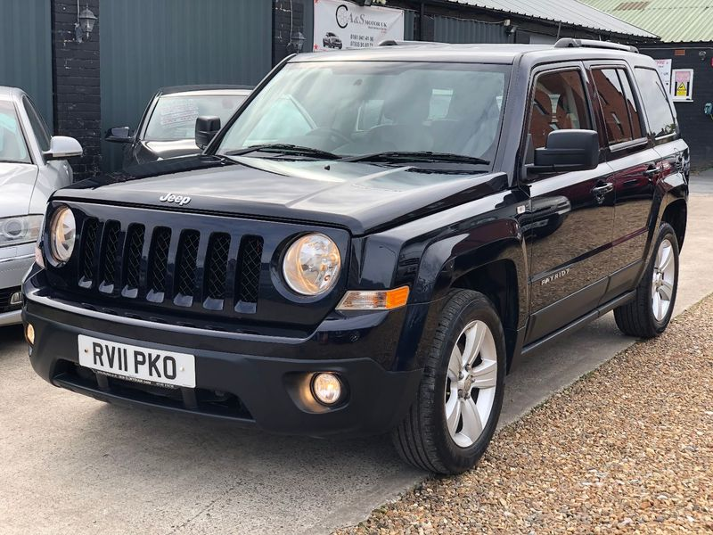 JEEP PATRIOT 2.2 CRD LIMITED 4 Wheel Drive